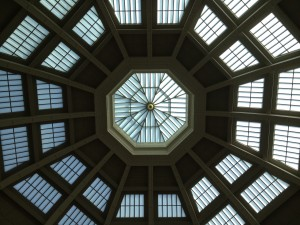 Roof of the Library dome